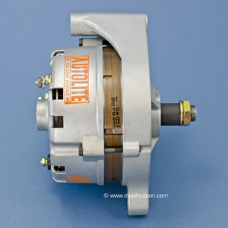 1967 289 Hipo +PS -PS  Autolite Alternator C6AF-10300-D (built before Dec 1966)