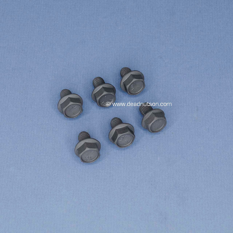 FORD FE 390 428 Water Pump Backing Plate Bolts (6)