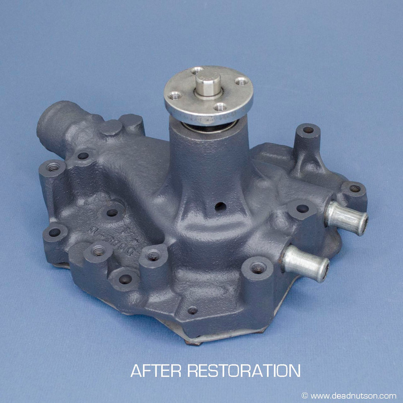 1970 BOSS 302 Water Pump Rebuild Service with BOSS Impeller (return shipping included)
