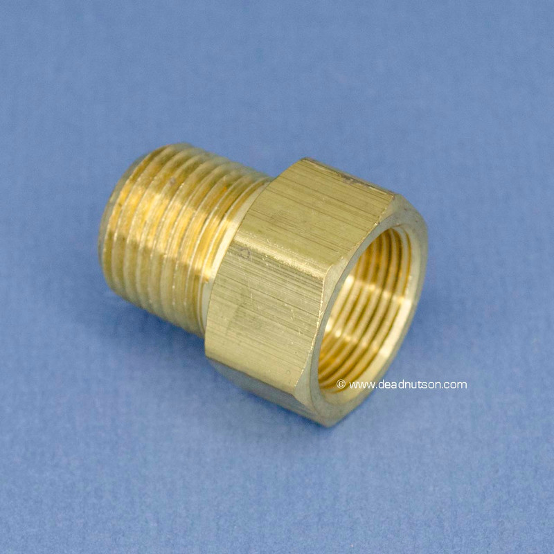 BOSS 429 Water Pump Heater Tube Brass Fitting