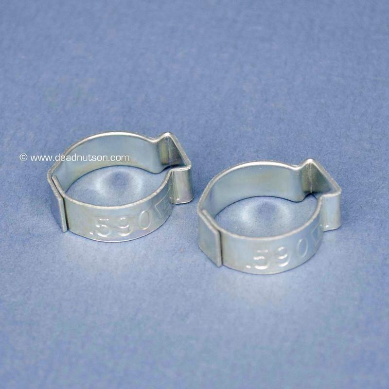 NOS Fuel Filter Crimp Clamps (2)