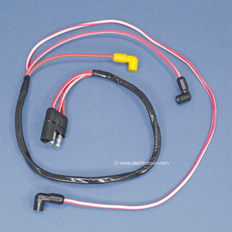1969-70 390, 428 Engine Gauge Feed Wire Harness