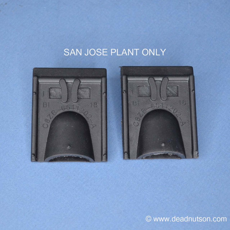 Trunk Drain Rubber Curved C8ZB-65-11202-A SAN JOSE
