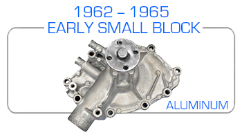 1962-65 Ford small block aluminum water pump rebuild kits