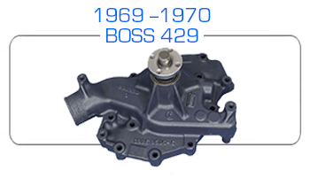 1969-70 BOSS 429 Ford water pump rebuild kits