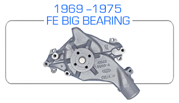 1969-75 Ford FE big bearing water pump rebuild kits