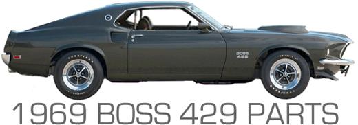 1969 BOSS 429 PARTS