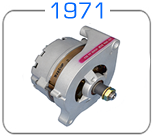 Concours correct 1971 Ford Autolite Alternator