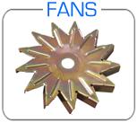Ford alternator cooling fans 10 blade 13 blade