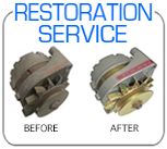 Ford Mercury Autolite alternator concours restoration service