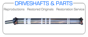 1970 429 BOSS DRIVESHAFTS | SLIP YOKES | U-JOINTS