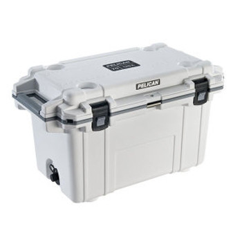 Pelican 70QT White/Grey Cooler