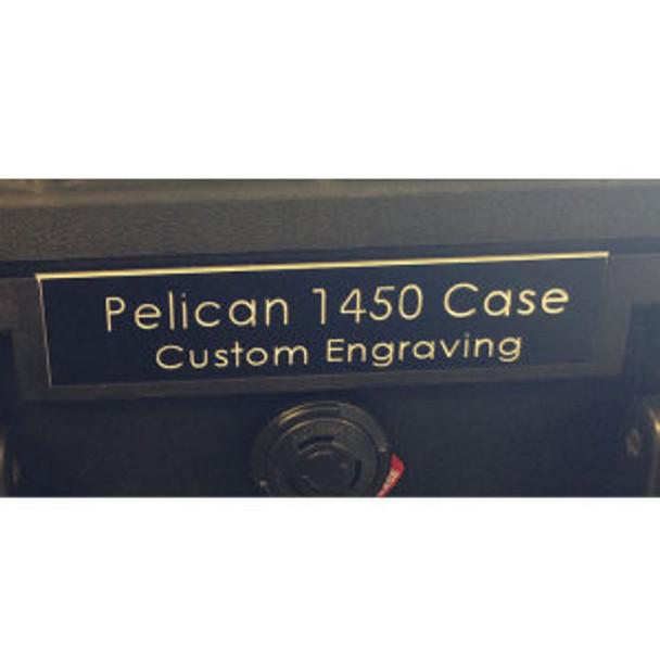 Pelican 1510 Nameplate