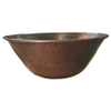 """24"""" Mediterranean Copper fire bowl with hammered finish"""