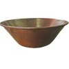 """27"""" Mediterranean fire bowl with smooth copper finish"""