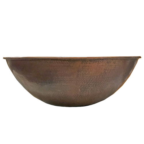 "31"" copper fire bowl in Dubai style"