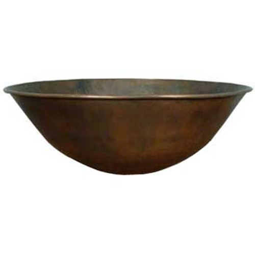 "36"" Portofino Copper Fire Bowl"