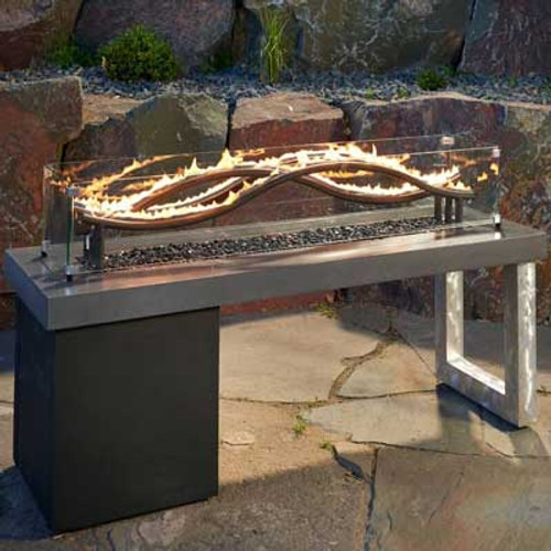 The Wave Gas Fire Pit