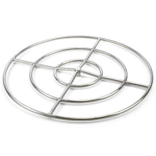 36 inch high capacity gas fire ring