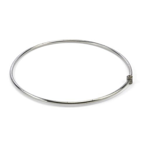 "36"" stainless steel single gas fire ring"