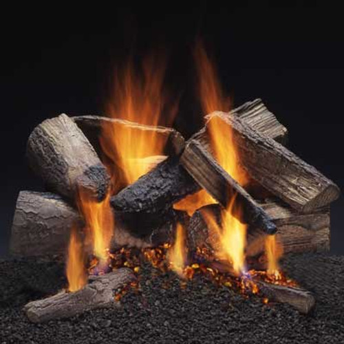 Charred Maple fire pit log set