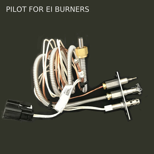 "Pilot assembly for electronic ignition burners. Includes hot wire igniter and 3"" wire and pilot tube"