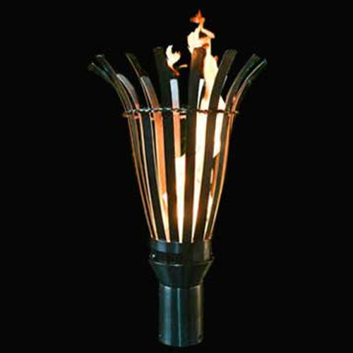 Atlas gas torch available with an electronic ignition in stainless steel.