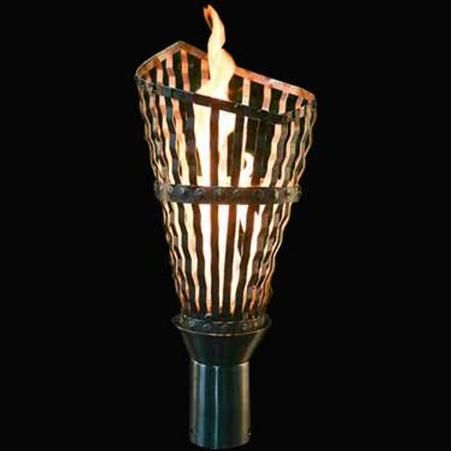 Kala gas torch available with an electronic ignition in stainless steel.