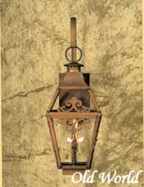 Extra large custom gas light- Old World Extra Large