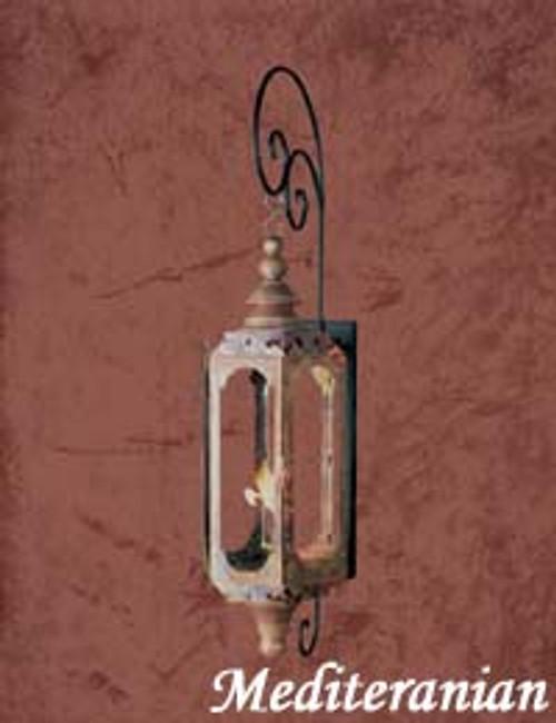 Copper gas light- The Mediterranean