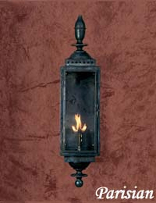 Copper gas light- Parisian Gas Light