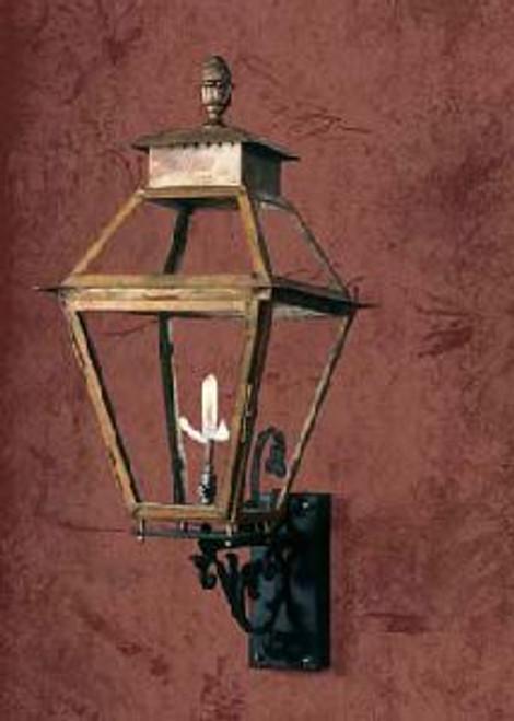 Copper gas light- The Vicksburg Gas Light CS-VGT-VB