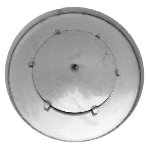 """28"""" round fire pit pan with access plate"""