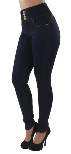 BS003P - Plus Size, Colombian Design, Butt Lift, High Waist, Skinny Jeans
