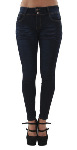 9Y114S - Classic Fit Design Basic Skinny Jeans