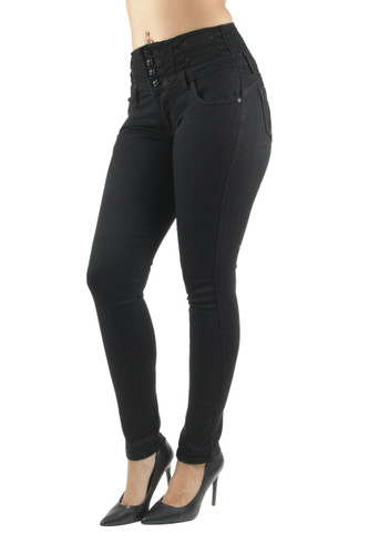 Plus Size Butt Lift, Levanta Cola, High Waist, Stretch Skinny Jeans