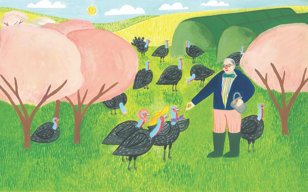 """""""A Turkey Tale"""" Children's Book"""