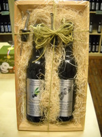 Bottle Duo, Sundried Tomato Parmesan Garlic Olive Oil, 25 Year Old Traditional Balsamic Vinegar.