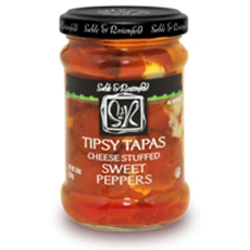 TIPSY TAPAS Cheese Stuffed Hot Peppers