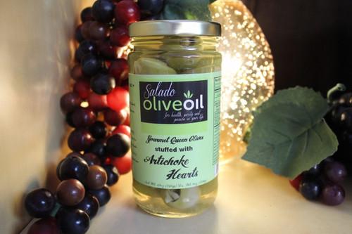 Artichoke Heart Stuffed Olives