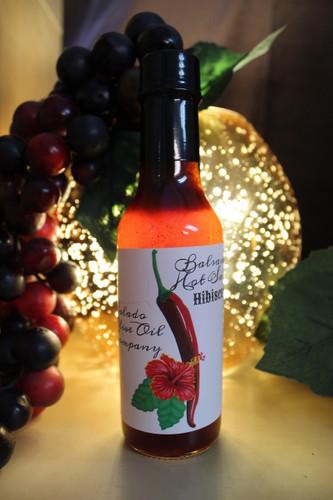 Hibiscus Balsamic Hot Sauce