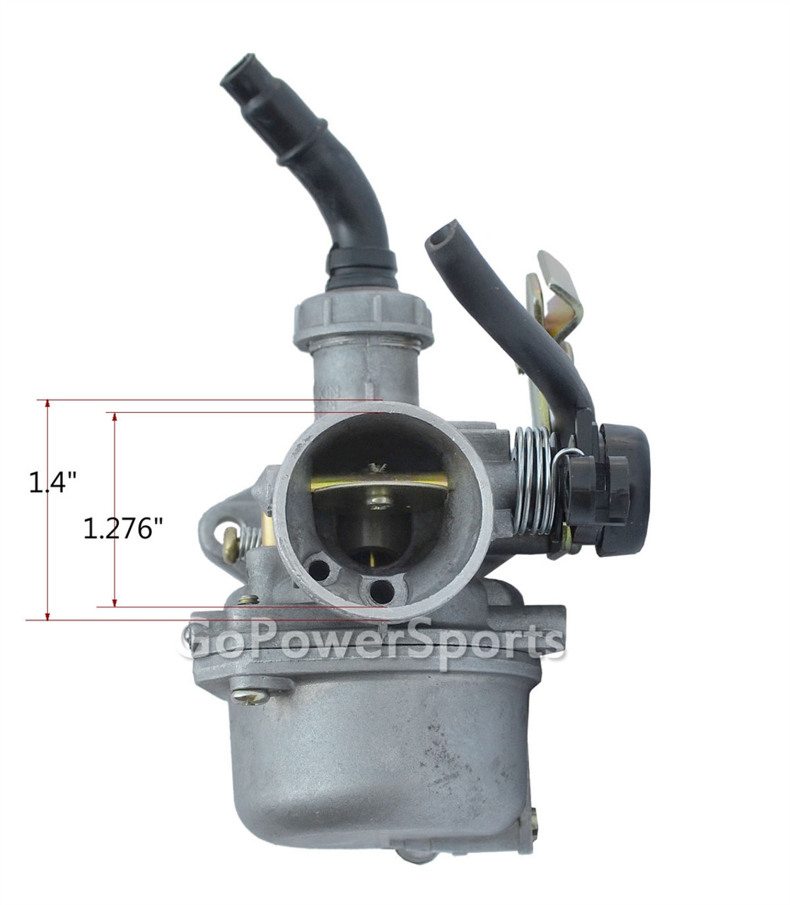 110cc carburetor gopowersports com 49cc bicycle engine wiring diagram previous kd110carb kd110carb pz19000110g000 kd110carb 110cc carburetor
