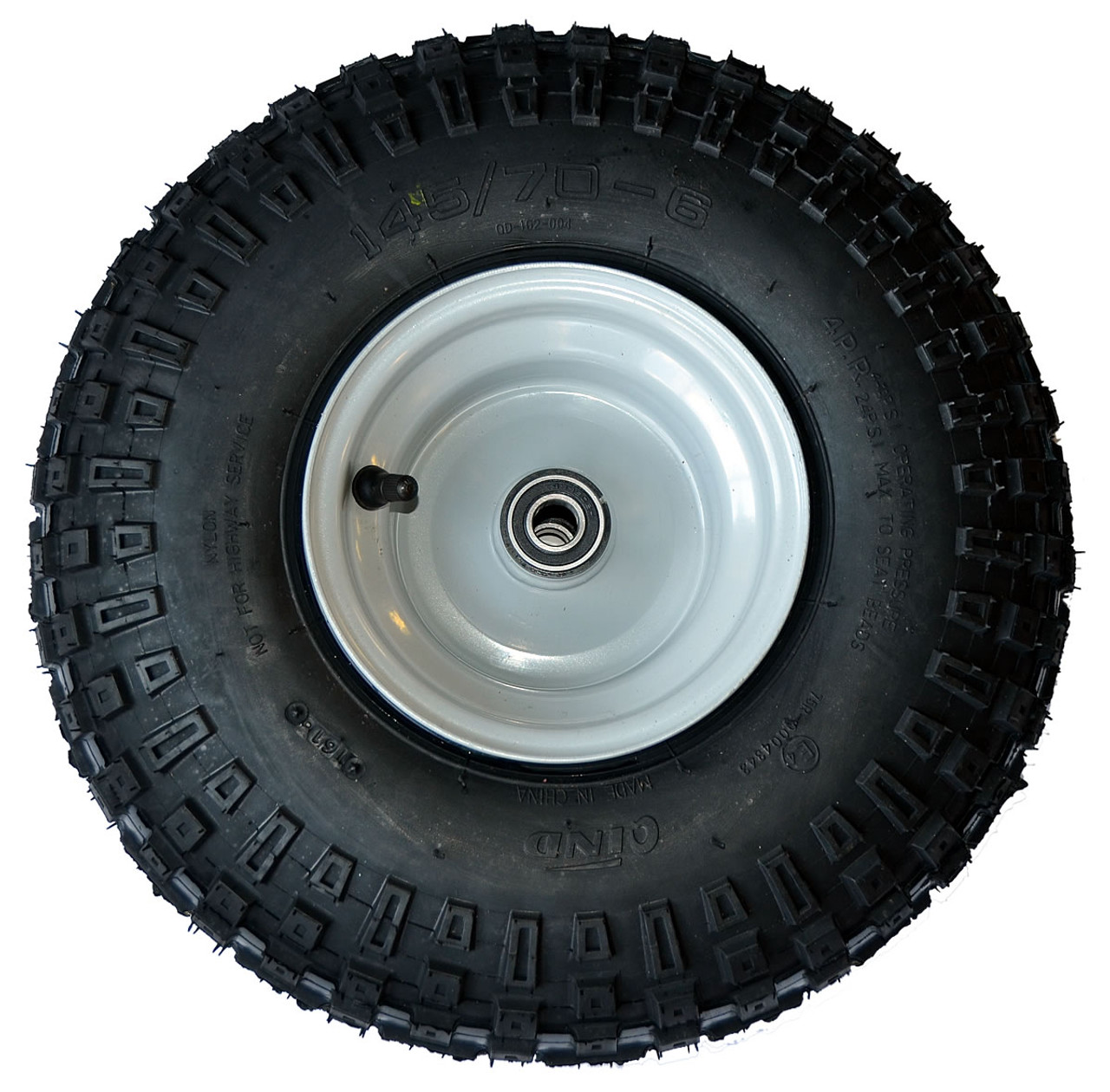 145x70 6 Floater Wheel Assembly Complete With 5 8 Quot Sealed
