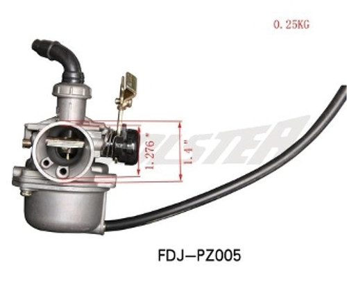 Carburetor CA-5, 70-150cc