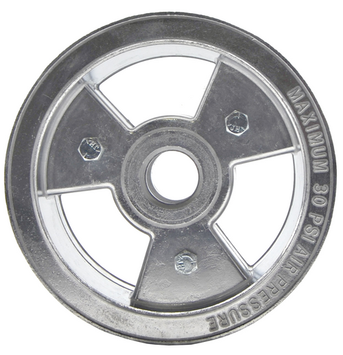 "6"" Tri-Star Wheel, 3"" Wide ( Aluminum )"
