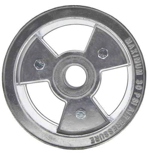 "6"" Tri-Star Wheel, 4"" Wide ( Aluminum )"