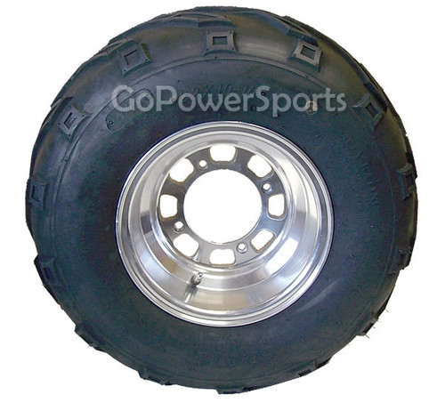150 / 250 Rear Wheel Assembly Driver Side, 22x10-10