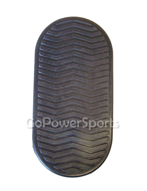 Rubber Foot Plate - 150cc
