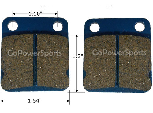 Brake Pads, Rear 150cc