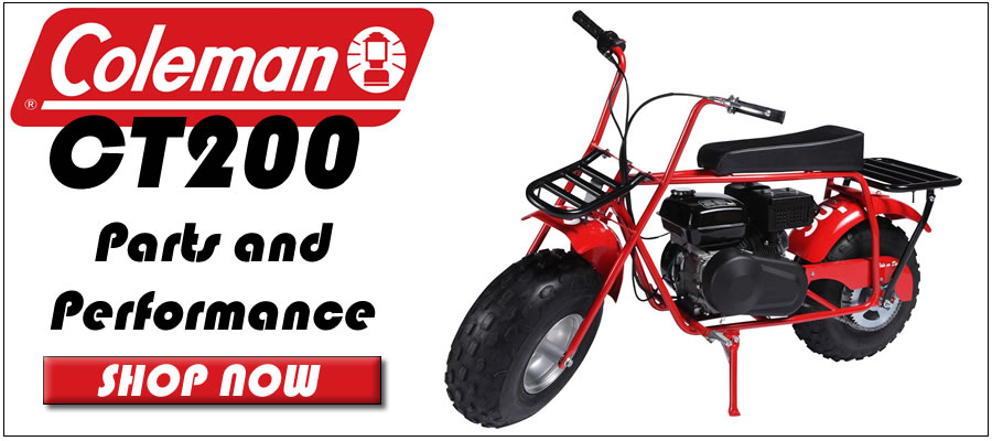 Coleman CT200 Parts and performance